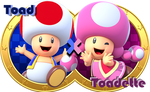 Toad X Toadette