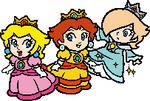 Three Small Princesses