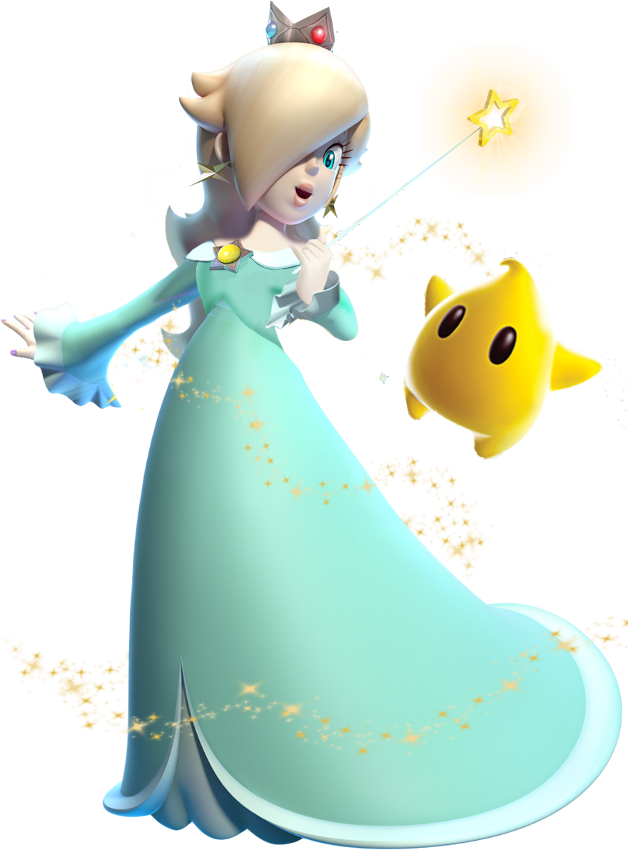 Princess rosalina and luma