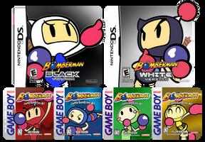 Bombermen Versions by CaitlinTheStarGirl
