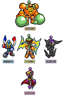 Pixel Bomberman R: SA3-styled Dastardly Bombers by CaitlinTheStarGirl