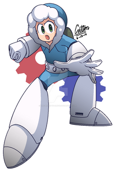 .:AT: Ice Man! - Mega Man 11-styled:.