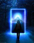 Magic Door - Photoshop Art