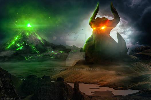 Chaos Land - Photoshop Art