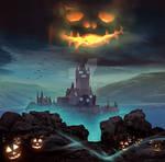 Spooky Land - Photoshop Art