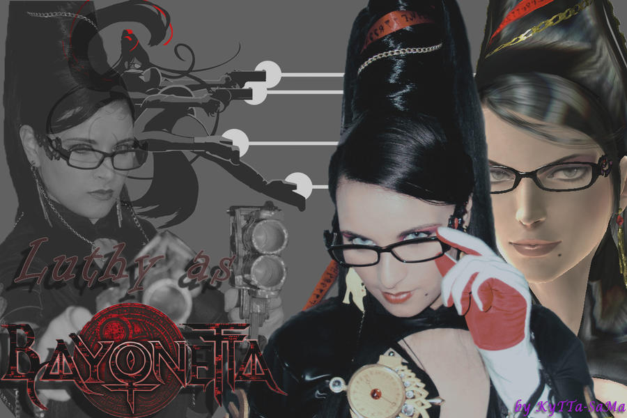 Luthy_as_Bayonetta by kyttasama