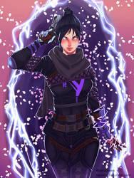 Wraith by HaraDraws