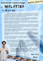 Borat in Magazine Article