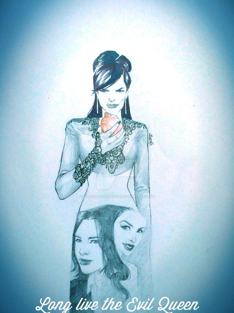 Long live the Evil Queen by cucksillustration