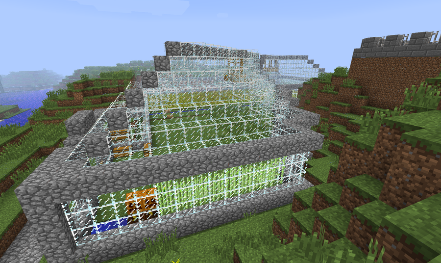 minecraft greenhouse pictures to pin on pinterest pinsdaddy