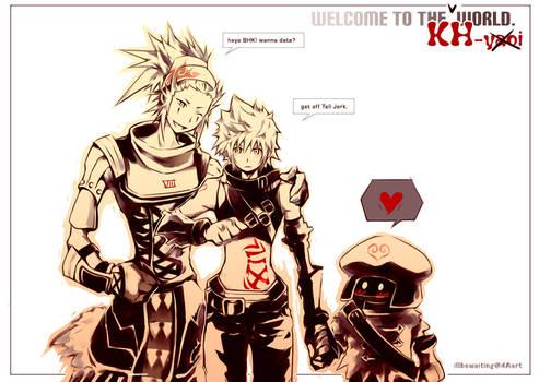 KH2: .hack Hearts