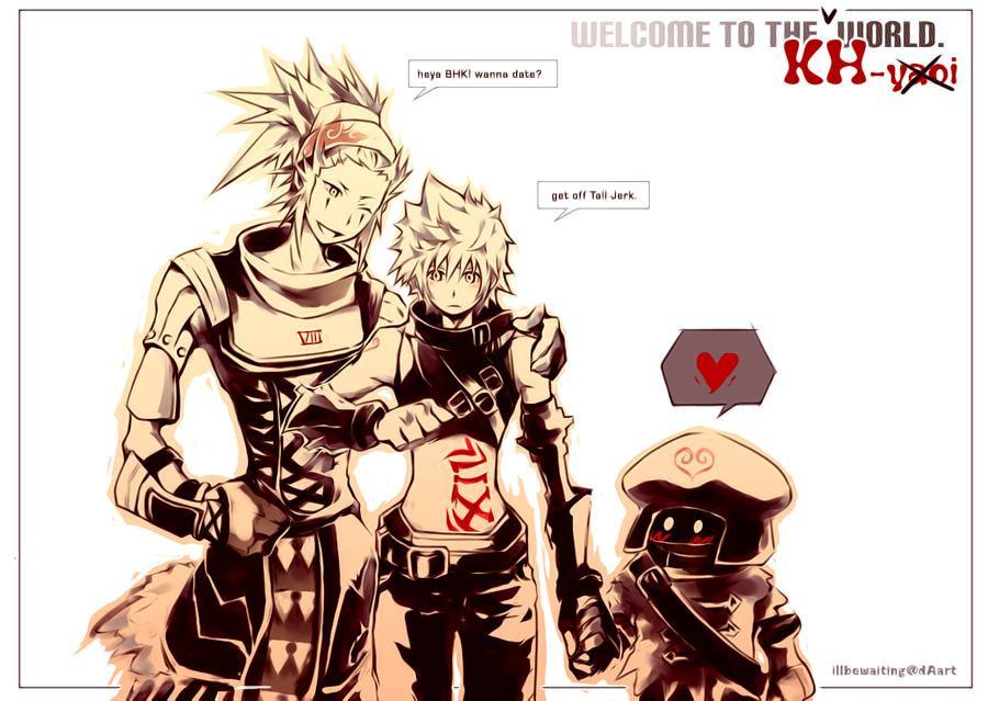 kh2 hack hearts by illbewaiting on deviantart