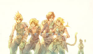 Dissidia: We are the Light.