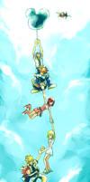 KH2: In the sky.