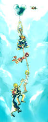 KH2: In the sky. by illbewaiting