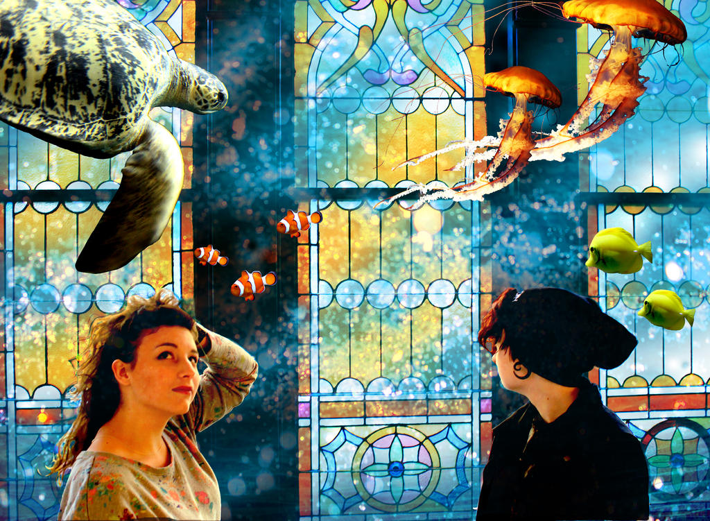 Aquarium by LollypopWolf