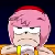 Unamused Amy Rose Emoticon