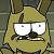 Unamused Springtrap Emoticon by Toad900