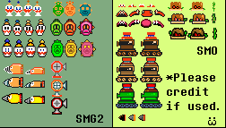 SMG2 and SMO SMM Enemies (And Hat Entity) by Toad900