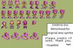 Sonic CD Amy Sprite Edits