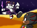 Dark Tails vs Shadow (Contest Entry)