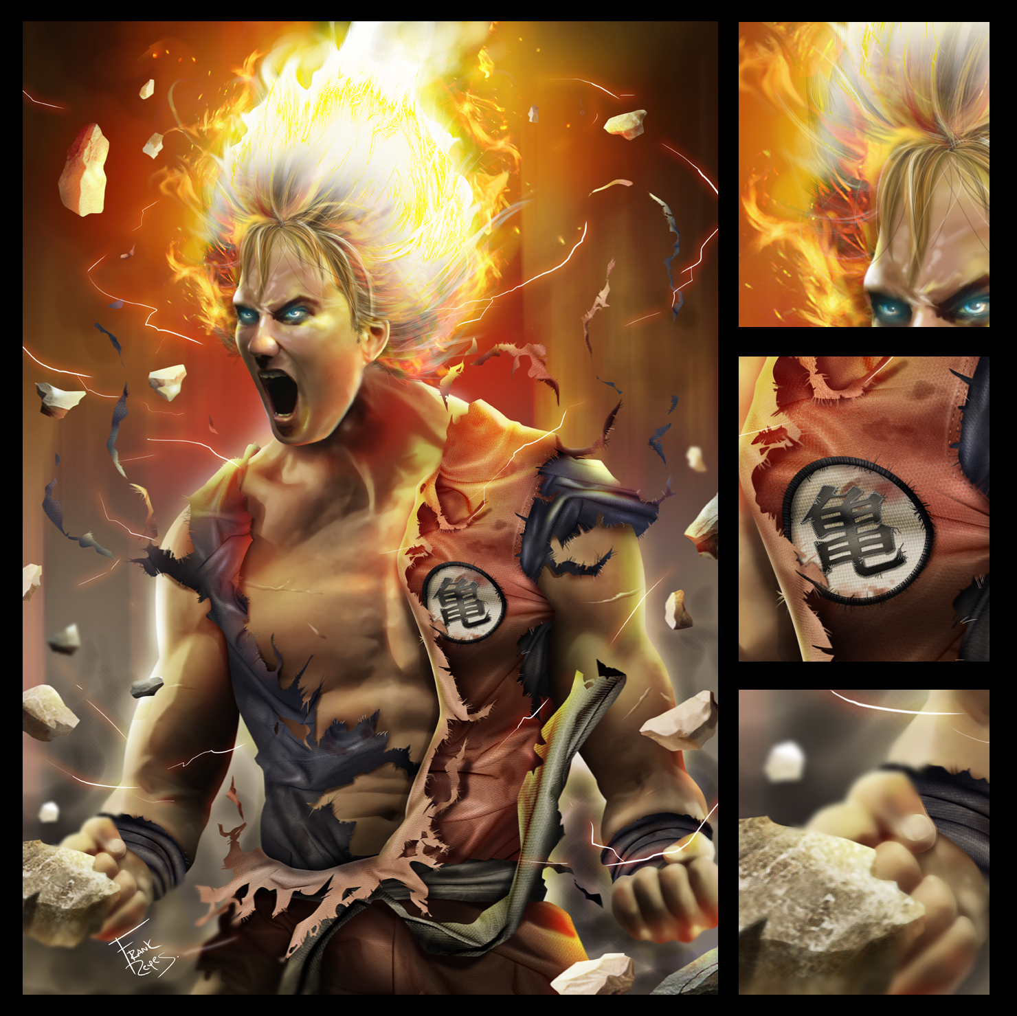 Real Goku By Frankreyes On DeviantArt