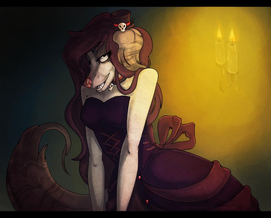 Goth lady! by NaRaFiNa