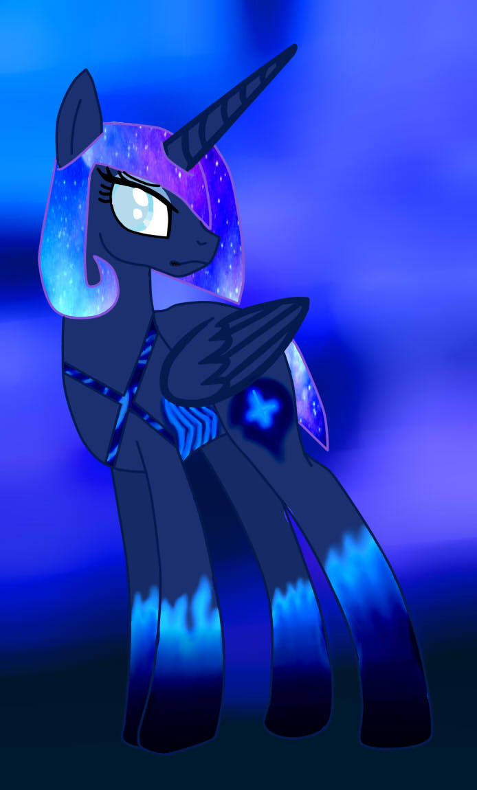 Mlp-luna-alicorn-base-by-lunaapple-daxeht9-stuning by Undertalesanslover16