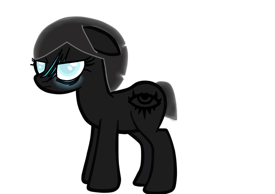 Earth Princess Of-Darkness by equine bases by Undertalesanslover16