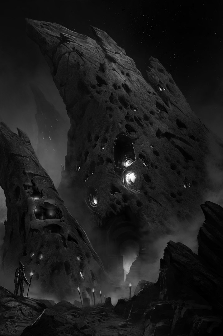 Dark Land by eschaal