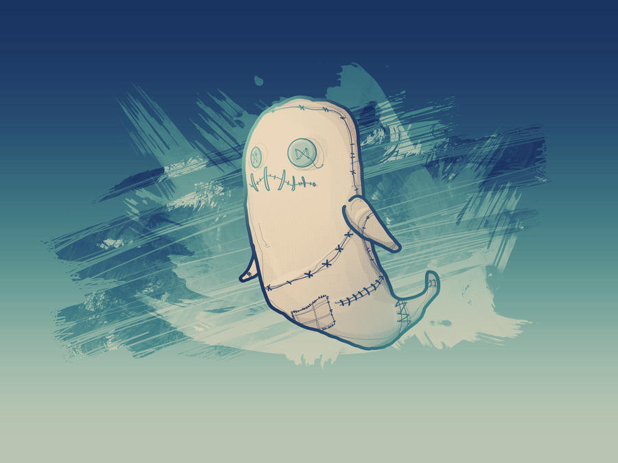 Sack Ghost by jgurley