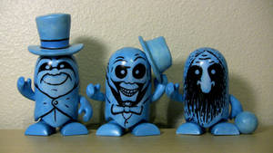 Hitchhiking Ghost Color Blank Vinyl Customs by JMKohrs