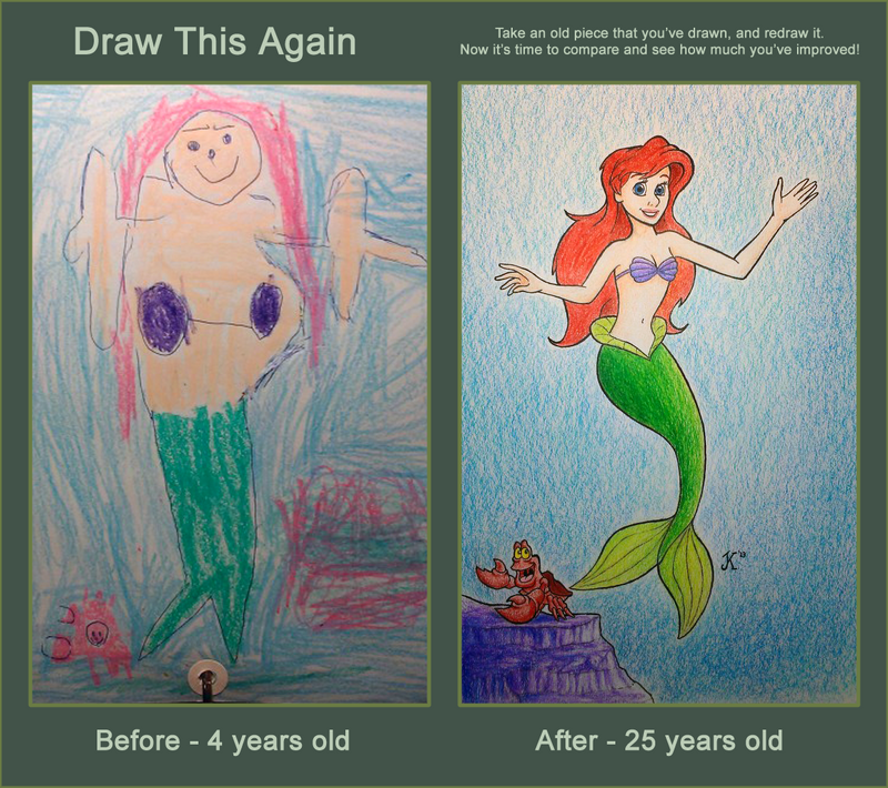Draw This Again: The Little Mermaid - Redemption by ...