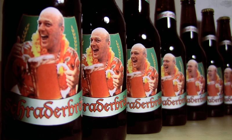 Breaking Bad Schraderbrau Bottle Replicas by JMKohrs