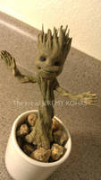 Dancing Baby Groot by JMKohrs