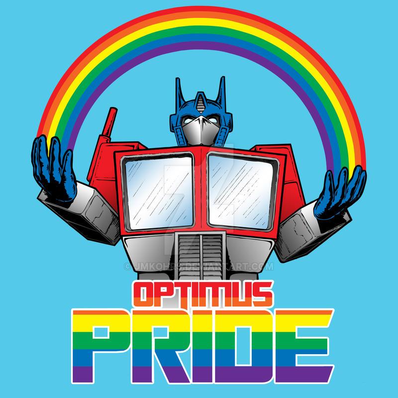 Optimus Pride by JMKohrs