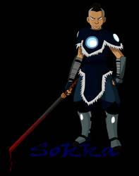 Sokka's Evil by Azulera