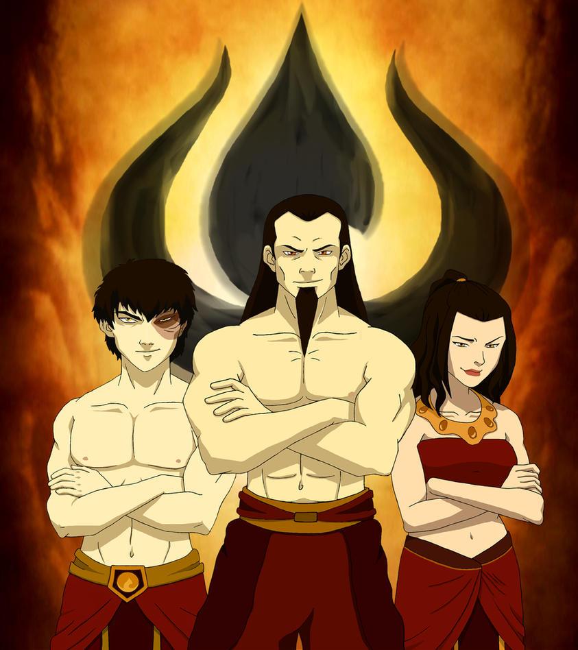 Movie Avatar State Aang: Fire Nation By Azulera On DeviantArt