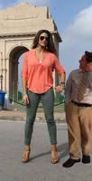 WWE wrestler Eve Torres looks like amazon