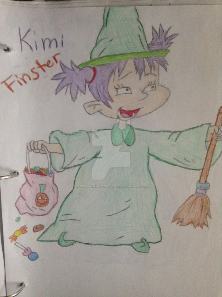 Rugrats Kimi Finster Halloween drawn at 12 by ...