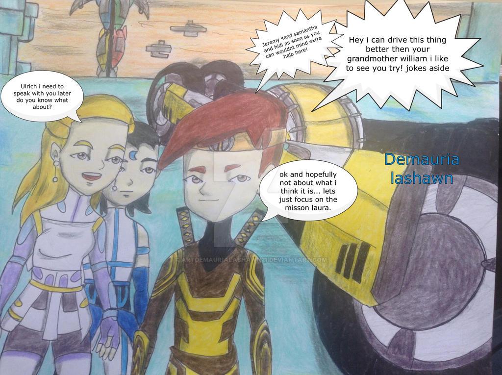 Code lyoko short: comic cortex mission! by artdemaurialashawn21