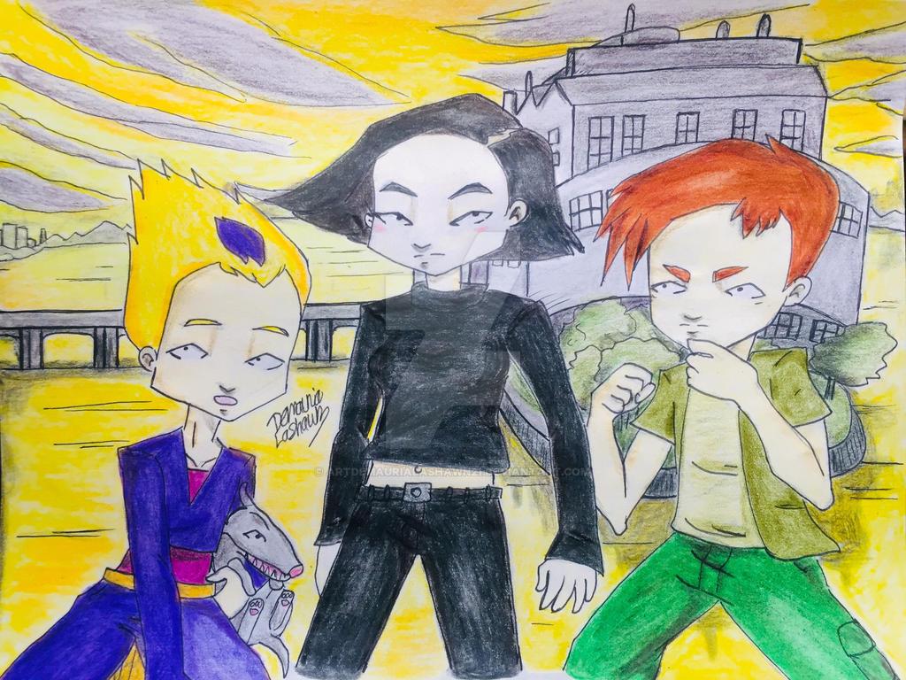 Code Lyoko Lyoko Warriors Garage Kids Look By Artdemaurialashawn21