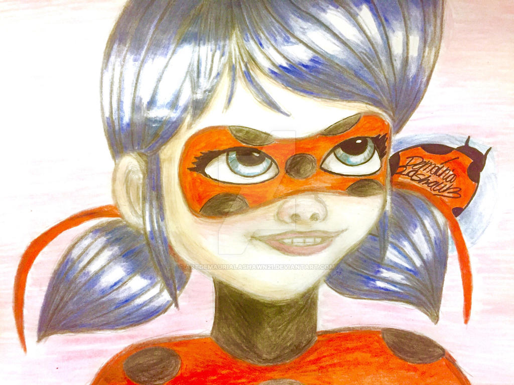 Miraculous Ladybug : Shes miraculous  by artdemaurialashawn21