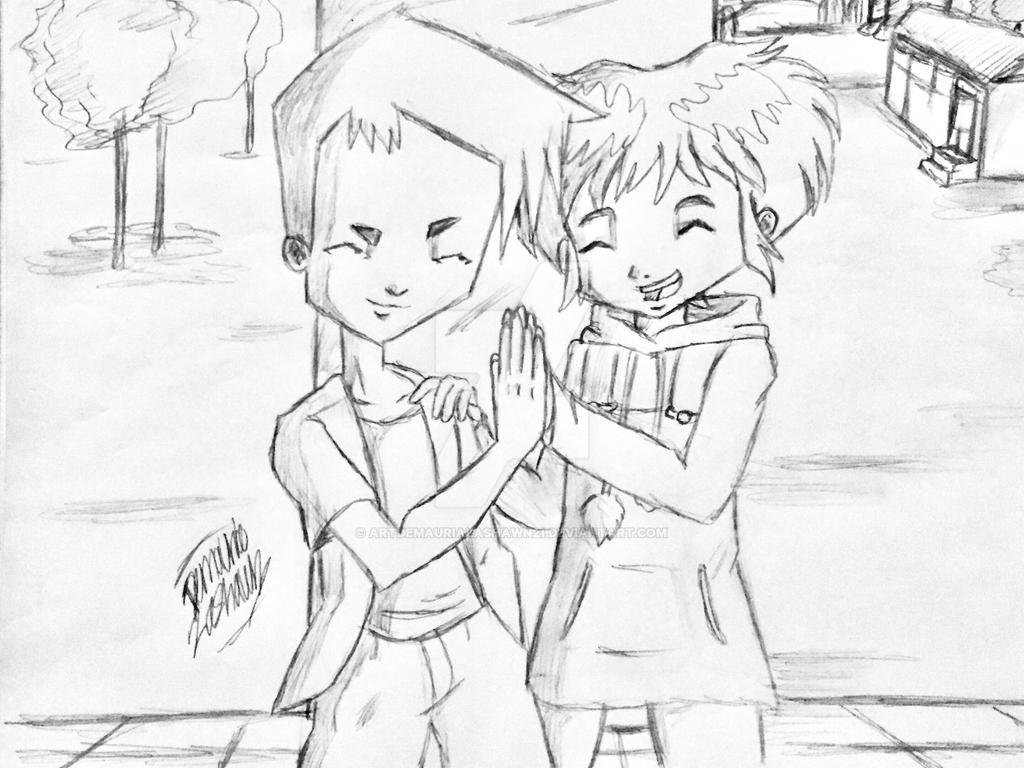 Code Lyoko: Aelita and Ulrich friendship  by artdemaurialashawn21