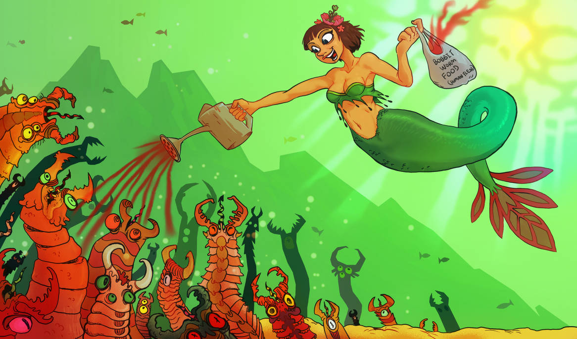Feeding the Bobbit Worms by Pseudogiant