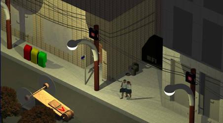 Mousetrap Car Scene