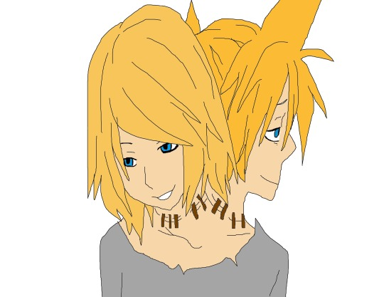 Rin And Len by sesshylvrable