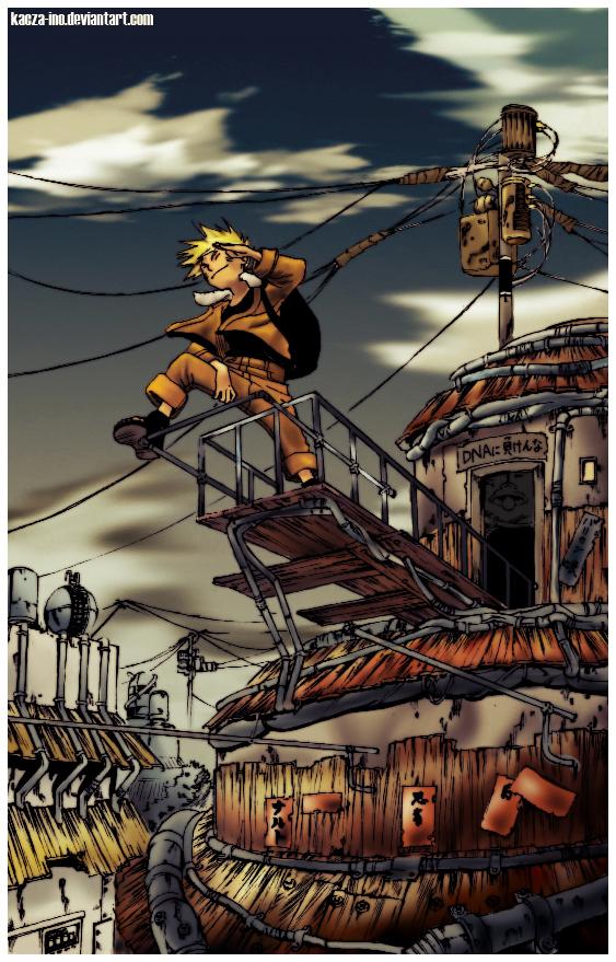 Naruto by kacza-ino