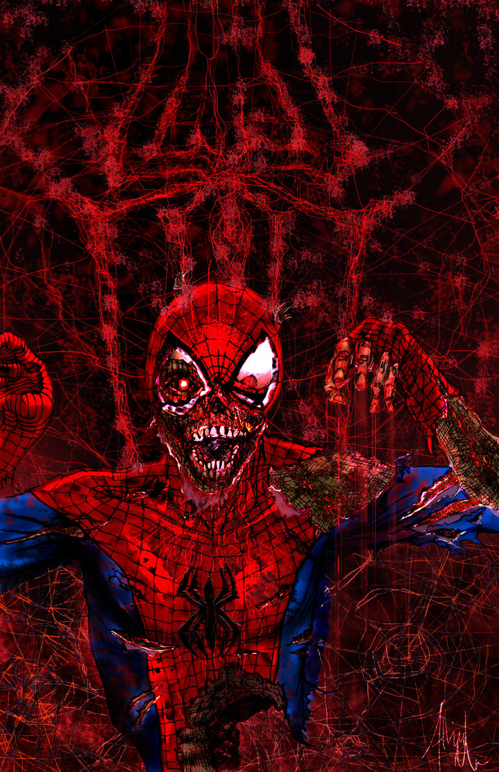 Zombie Spider-Man II by albiemo