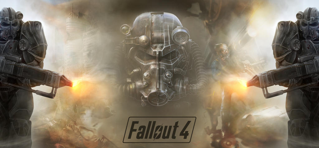 Fallout 4 Responsive Wallpaper Facebook Cover By NJMGraphics